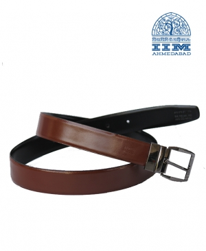 Pure Leather Brown Reversible Belt