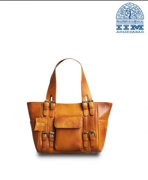 TAN Ladies Hand Bag