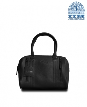 Bag Ladies Leather black
