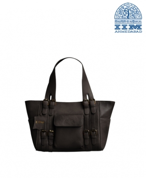 Bag Ladies Leather Large Black