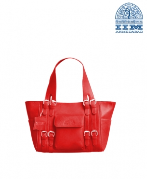 Red Ladies Hand Bag