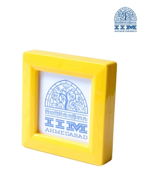 Paper Weight Yellow Square