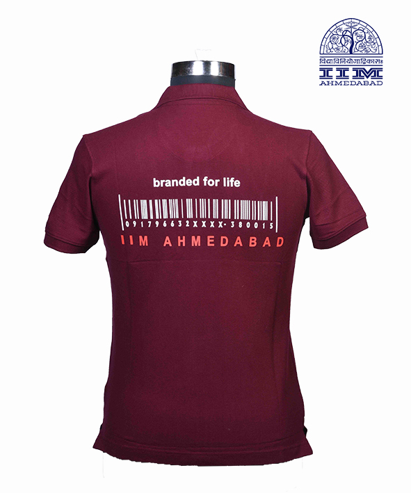 Polo Branded For Life Maroon