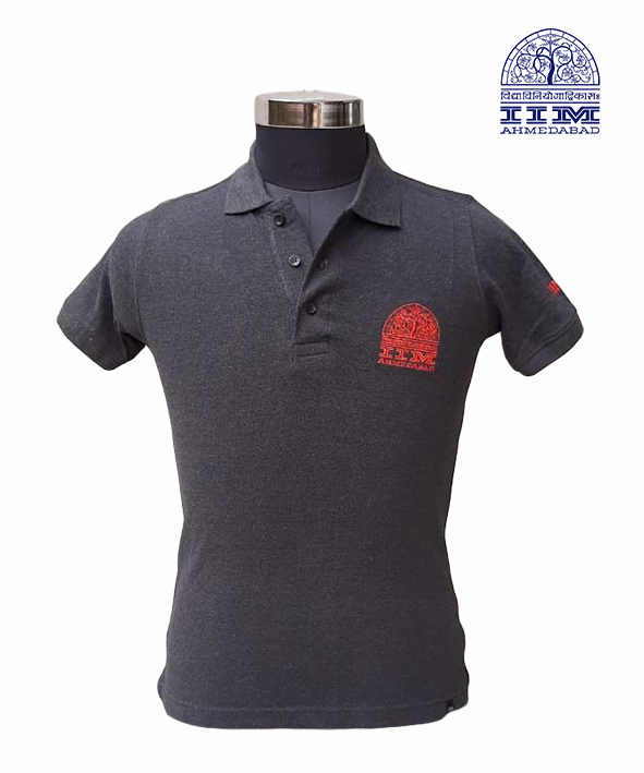 Polo  Branded For Life Charcoal
