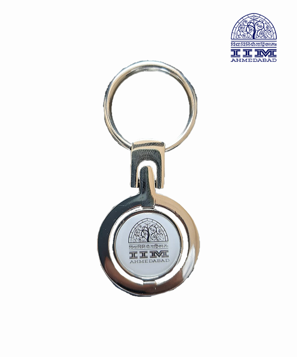 Key Chain Domed Round Metal