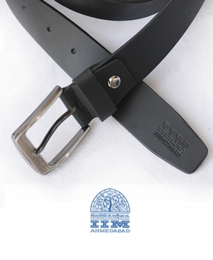 Pure Leather Black Belt