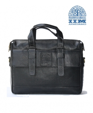 Leather Laptop Bag � Black