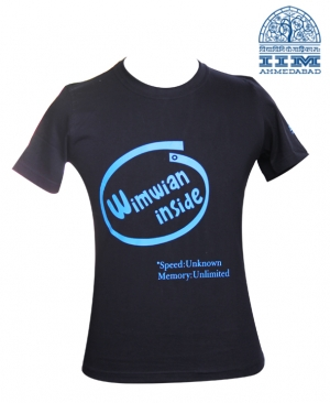 Black - WIMWIAN T Shirt
