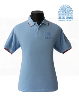 Sky Blue Polo T Shirt