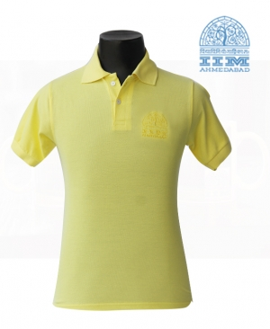 Polo T Shirt - Lime Yellow